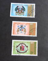 New Zealand 1971 City Centenaries SG952/4 Auckland Palmerston used as photo