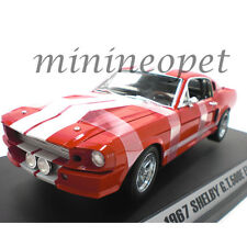 COLLECTIBLES 162 1967 SHELBY MUSTANG GT 500 E ELEANOR 1/18 DIECAST CAR RED
