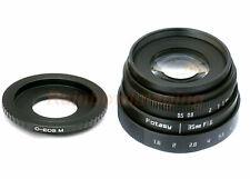 35MM APS-C F1.6 MC Lens +Adapter for Canon EOS M M3 M5 M6, M6 Mark II