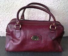 New listing Vintage 1990's Etienne Aigner Oxblood Burgundy Satchel Hand Bag/Purse