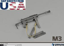 1/6 Scale M3 Submachine Gun World War II US Army Toys Weapon Models USA SELLER