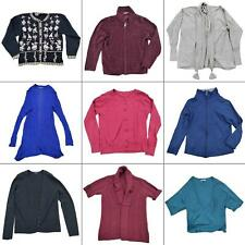 Lot 10 Womens Cardigans Size Small Open Front Button Zip Bundle Detailed Tops