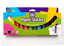 LITTLE BRIAN Paint Sticks Classic Colours 12 Assorted