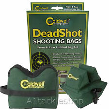 Caldwell Deadshot Target Rifle & Air Rifle Shooting Bench Rest Bags - UNFILLED