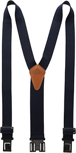 Dickies Men's One Size Navy Blue Perry Suspender NEW 21DI1500 1S