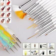 Glamza GLAMZA-37 Nail Art Design Pen - 20 Pieces