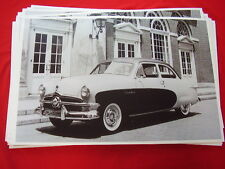 1950 FORD CRESTLINER  11 X 17  PHOTO  PICTURE
