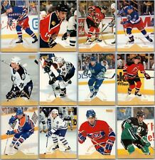 1996-97 PINNACLE ARTIST'S PROOFS CARDS - FINISH YOUR SET - PICK YOUR SINGLES BV