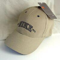 NIKE Est 1972 Tan Cotton Hat Ball Cap Mens Size OSFA NEW NWT #572741