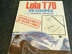 LOLA T70 TECHNICAL BAMSEY CHEVROLET LE MANS 1967 DAYTONA 24 1970 1969 GARDNER