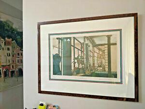 Frances St. Clair Miller colour etching & aquatint, ed. 59/90, 63.5x81cm, signed