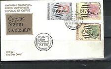Ersttagsbrief-Briefmarken aus Griechenland