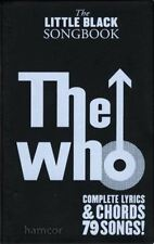 The Who The Little Black Songbook Guitar Chord Music Book