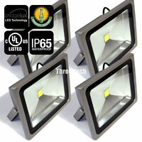 4x 20W LED Flood Light Cool White Outdoor Landscape 95-260V Lamp Waterproof IP65