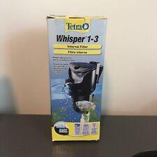 Tetra Whisper In-Tank Filter for 1-3 Gallon Aquariums With Air Pump
