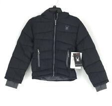 Spyder boys black tonal winter jacket SZ 6