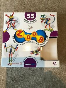 54 Zoob piece building set STEM challenge fun and educational learning 6 years +