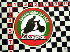 """Vespa Sticker """"Made In Italy Since 1946"""""""