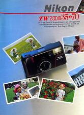 Nikon TW ZOOM 35 - 70 Prospekt brochure german - (0787)