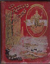 LES CHASSEURS D EDREDONS  ERNEST D HERVILLY    1896