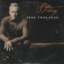 CD CARTONNE CARDSLEEVE COLLECTOR STING (THE POLICE) 1T SEND YOUR LOVE 2003