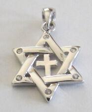 Messianic Christian Jewish Star of David Cross CZ's