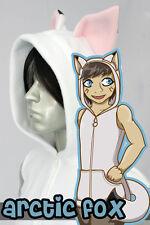 Arctic Fox Kitsune Vest, New, Kigurumi, Cosplay, Costume
