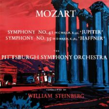Mozart - Symphonies No. 41 & 35 - Pittsburgh Symphony Orchestra / Steinberg CD