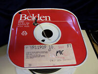 10 ft BELDEN black flexible high grade MICROPHONE cord CABLE YR11909 8413