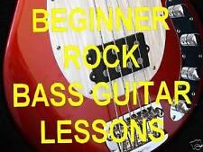 Learn Beginner Rock Bass Guitar Dvd Lessons. Video.
