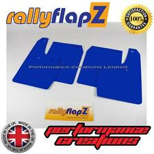 Mud Flaps to fit FORD FIESTA MK6 ST (02-07) RallyflapZ Mudflaps Blue 4mm PVC x 4