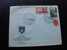 FRANCE -  enveloppe 9/6/1957 (cy99) french
