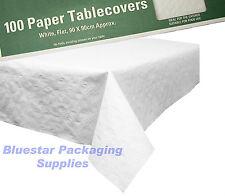 200 x papier blanc aucune plis linge de table couvrir 90x90cm