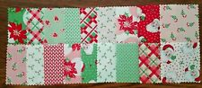 "Swell Christmas Fabric 18 Pc Charm Pack 5"" Fabric Squares OOP Santa Candy Canes"