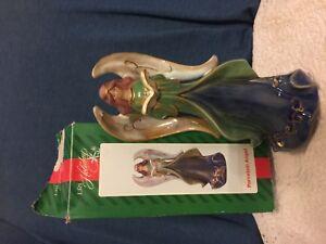 Porcelain angel figurine  by LRI Holiday