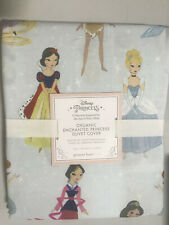 Pottery Barn Kids Disney Enchanted Princess Twin Duvet Cover NEW