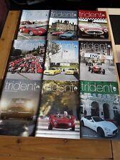 Maserati Owners Club TRIDENT magazines x25 2006 to 2017