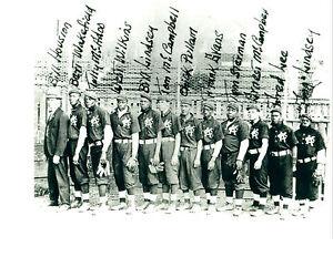 1908 KANSAS CITY MONARCHS KC 8X10 TEAM PHOTO BASEBALL PICTURE NEGRO LEAGUE