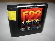 F22 Interceptor Sega Mega Drive Genesis Japan import