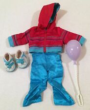 American Girl Doll Clothes Birthday Balloon Pink Jacket Hoodie Blue Shoes Pants!