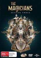 The Magicians : Season 3 (DVD, 4-Disc Set) NEW