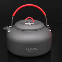 ALOCS  1.4L Water Kettle Teapot Outdoor Camping Hiking Coffee Pot CW-K03