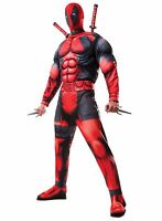 Deluxe Muscle Chest Deadpool Marvel Adult Costume