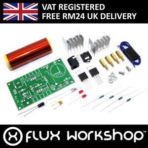 Mini Tesla Coil Kit Speaker Spark Neon Excite Flux Workshop