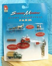 "NIB LIFELIKE TRAINS 1321 SCENIC MASTER SCENE ESSENTIALS ""FARM"" HO SCALE -5D"