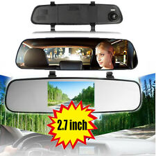 2.7inch HD Dash Cam Video Recorder Rear View Mirror Car Camera Vehicle DVR SE