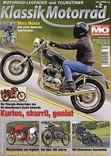 Klassik Motorrad 2/11 2011 Hesketh V 1000 Mars Monza FN Ariel SG32 Sloper R51RS