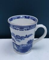Vintage Ringtons Wade Ceramics Exclusive Willow Pattern Design Gilt Rim Mug