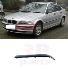 FOR BMW 3 E46 SALOON/ESTATE 01-05 FRONT BUMPER MOULDING TRIM BLACK LEFT N/S
