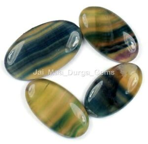 Natural Fluorite Wholesale Lot Cts Pcs Free Size Loose Gemstone NKT42